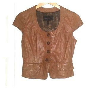 BCBGMaxAzria Blazer (100% Leather)
